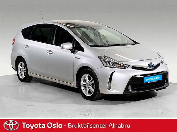 Toyota Prius+ Seven 1,8 VVT-i Hybrid Executive Skyview 7-seter, Glasstak,  2015, 34341 km, kr 264900,-