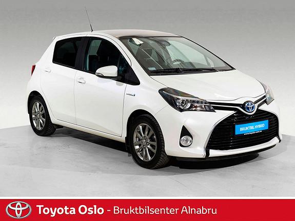 Toyota Yaris 1,5 Hybrid Style e-CVT SE KM!  2016, 24718 km, kr 184900,-