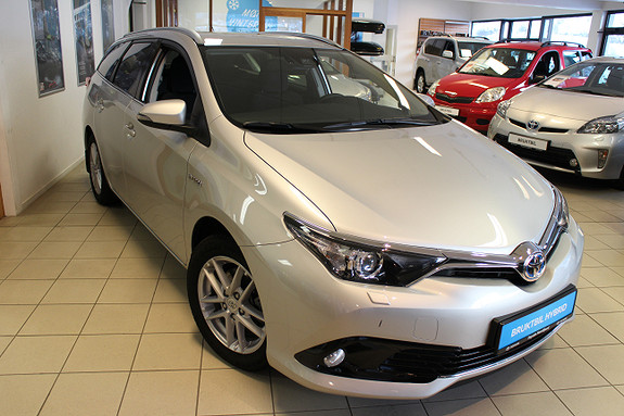 Toyota Auris Hybrid Active Sport stv.  2018, 14500 km, kr 289900,-