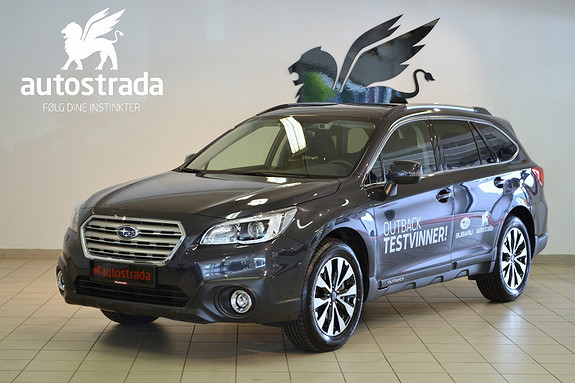 Subaru Outback 2.5i Premium DAB+ NAV AUT  2017, 10000 km, kr 419000,-