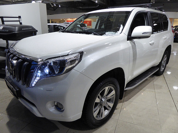 Toyota Land Cruiser 3,0 D-4D GX Aut  2015, 117000 km, kr 429000,-
