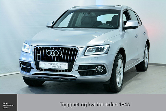 Audi Q5 2,0 TDI 190hk quattro S tronic INNBYTTEKAMPANJE*  2015, 63400 km, kr 409000,-