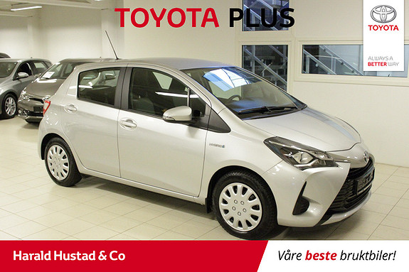 Toyota Yaris 1,5 Hybrid Active Go e-CVT aut  2017, 24675 km, kr 194000,-