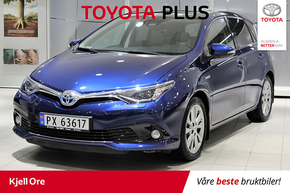 Toyota Auris 1,8 Hybrid E-CVT Style Edition TOYOTA PLUS  2017, 13357 km, kr 269000,-