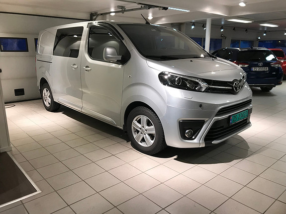 Toyota Proace 2,0 122 D Comfort pluss L1H1  2017, 11726 km, kr 315000,-