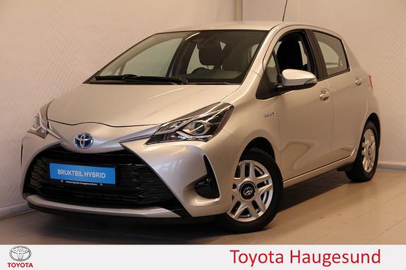 Toyota Yaris 1,5 Hybrid Active Go e-CVT aut Navi, kamera, Tectyl  2017, 22518 km, kr 199000,-