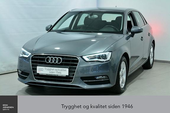 Audi A3 Sportback 1,2 TFSI 110hk Ambition S tronic INNBYTTEKAMP  2015, 43900 km, kr 199000,-