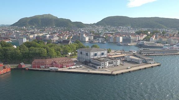 Skuteviksboder ligger flott og skjermet sentralt i Bergen.
