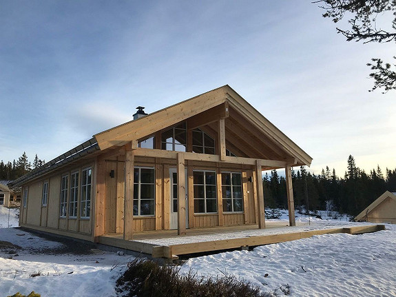 Berglia XL – Hytte med 3 soverom og hems