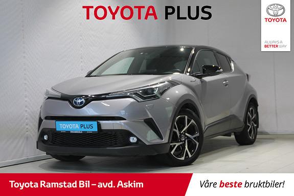 Toyota C-HR 1,8i Hybrid Dynamic Tech  2018, 53800 km, kr 299000,-