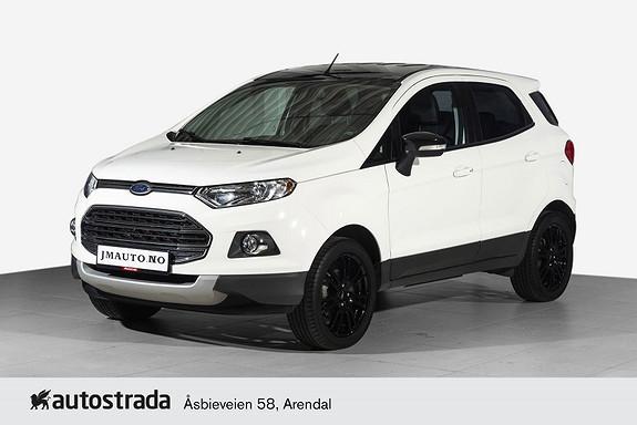 Ford Ecosport 1,0 125hk Titanium S Sony, H.feste, Ryggesensor
