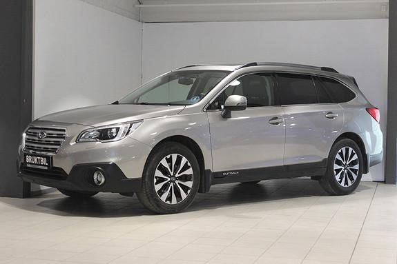 Subaru Outback 2.5i AUT PREMIUM Skinn, krok, adapt.cruise, Navi++  2016, 55300 km, kr 369000,-