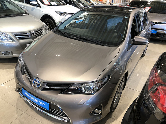 Toyota Auris 1,8 Hybrid E-CVT Executive m/DAB+ & Navi  2013, 54078 km, kr 149000,-