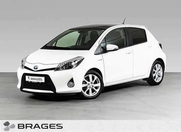 Toyota Yaris 1,5 Hybrid Style Glasstak, Ryggekamera, Delskinn, Keyless  2012, 77600 km, kr 119000,-