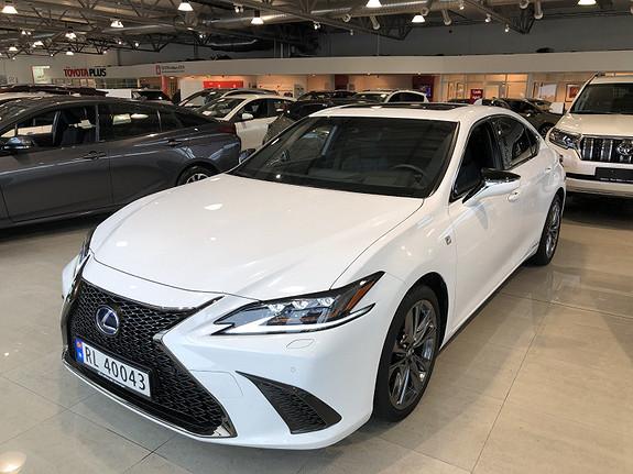 Lexus ES 300h F Sport S  2019, 10409 km, kr 635000,-