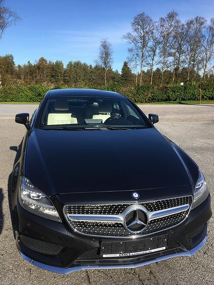 Mercedes-Benz CLS 220d Coupe Mercedes-Benz CLS 220D 4 dørs coupe 2015  2015, 112783 km, kr 385000,-