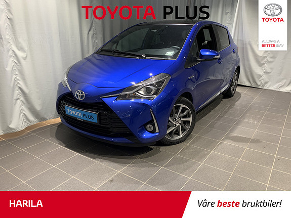 Toyota Yaris 1,5 Hybrid Style e-CVT  2017, 36800 km, kr 209000,-