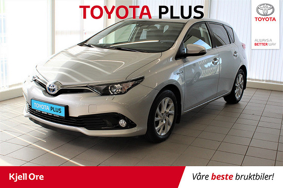 Toyota Auris 1,8 Hybrid E-CVT Active Sport Navi, Cruise, Ryggekam ++  2018, 48116 km, kr 255000,-