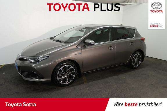 Toyota Auris 1,8 Hybrid E-CVT Style  2016, 80267 km, kr 189000,-