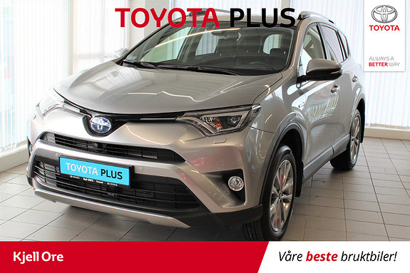 Toyota RAV4 Hybrid AWD Executive m/ H.feste, tectyl, lakkforsegl ++  2017, 12726 km, kr 419000,-