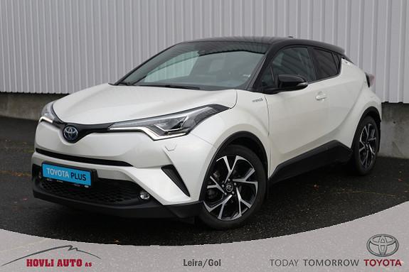 Toyota C-HR 1,8i Hybrid Dynamic Tech // JBL-lyd // Skinn // H.feste  2017, 41000 km, kr 289900,-