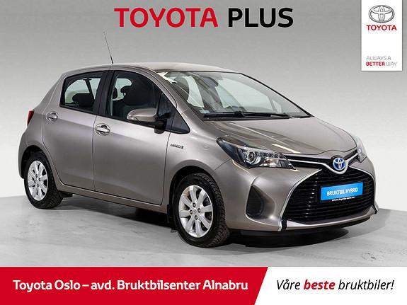 Toyota Yaris 1,5 Hybrid Active e-CVT Navi, DAB+,  2015, 46018 km, kr 159900,-