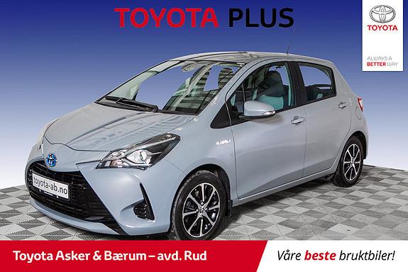 Toyota Yaris 1,5 Hybrid Active Go e-CVT aut  2018, 52401 km, kr 189000,-