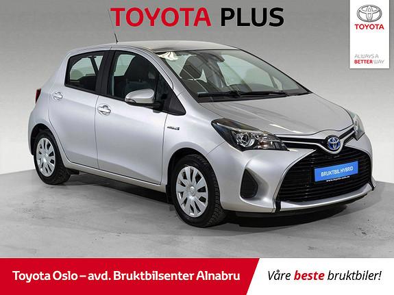 Toyota Yaris 1,5 Hybrid Active S e-CVT Navigasjon!  2015, 38516 km, kr 159900,-