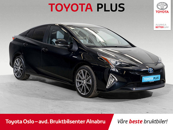 Toyota Prius 1,8 VVT-i Hybrid Executive Toppmodell / Black Edition!  2018, 22057 km, kr 319900,-