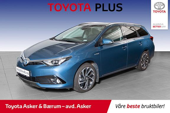 Toyota Auris Touring Sports 1,8 Hybrid Style PANORAMATAK  2016, 35400 km, kr 239000,-