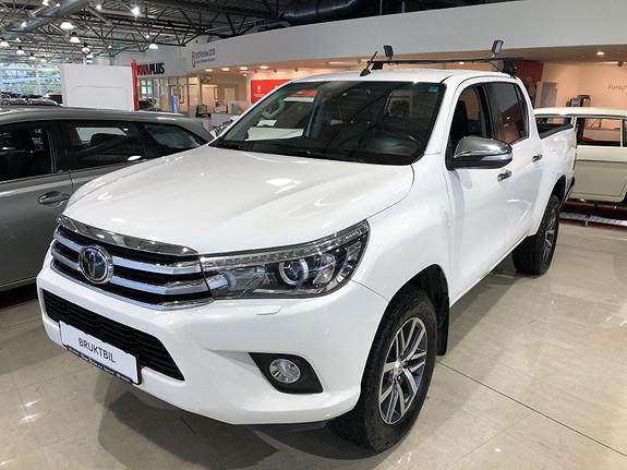 Toyota HiLux D-4D 150hk D-Cab 4WD SR+ aut m/DAB+  2016, 84550 km, kr 359000,-