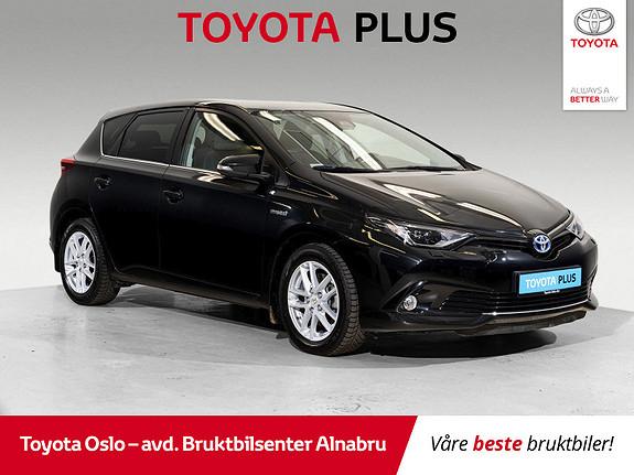 Toyota Auris 1,8 Hybrid E-CVT Sport Vision LED-hovedlys  2018, 47031 km, kr 259900,-