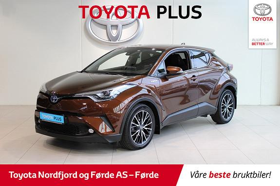 Toyota C-HR 1,8i Hybrid Supreme Tech 122HK  2017, 57209 km, kr 279000,-