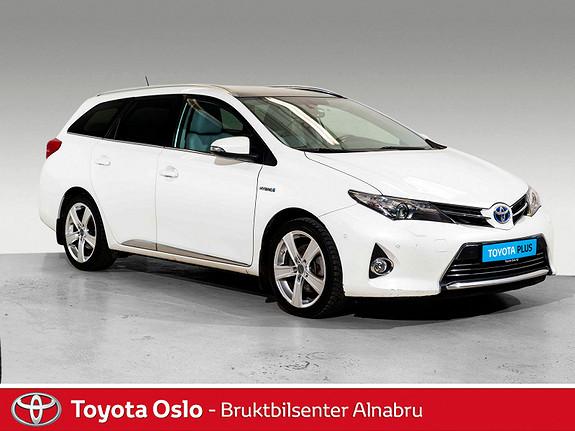 Toyota Auris Touring Sports 1,8 Hybrid Executive Toppmodell!  2014, 71127 km, kr 194900,-