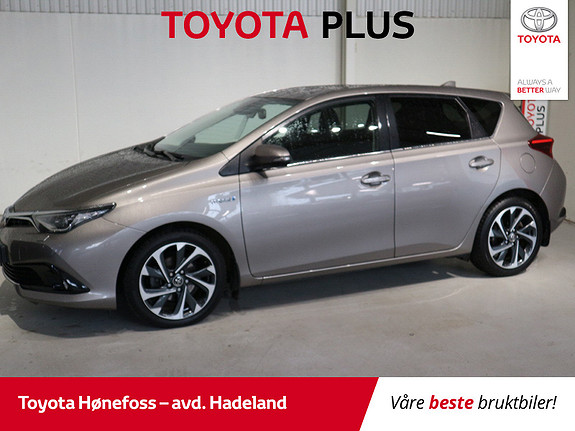 Toyota Auris 1,8 Hybrid E-CVT Style  2016, 27426 km, kr 209000,-