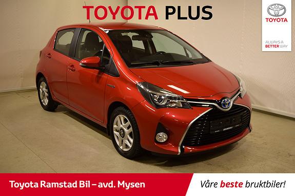 Toyota Yaris 1,5 Hybrid Active S e-CVT  2016, 21200 km, kr 169000,-
