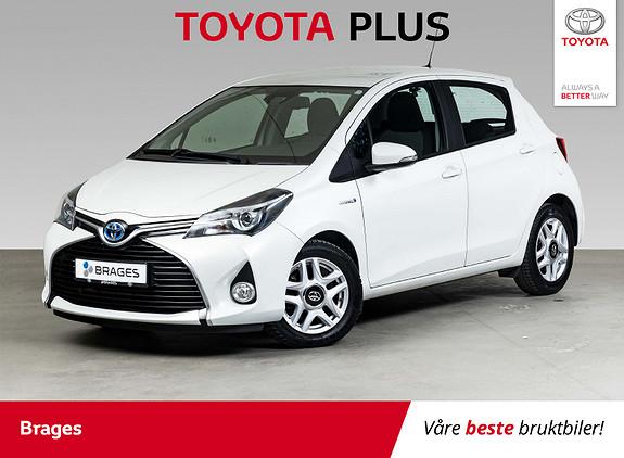 Toyota Yaris 1,5 Hybrid Active S e-CVT Navi, Cruise, R.kam, DAB+  2016, 39700 km, kr 169000,-