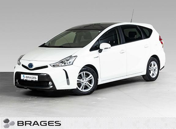 Toyota Prius+ Seven 1,8 VVT-i Hybrid Executive Skyview Panorama, El.Skinn  2016, 34500 km, kr 279000,-
