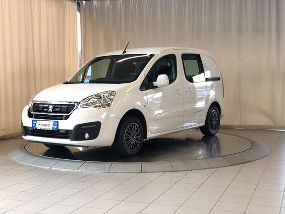 Peugeot Partner Mester 1,6 BlueHDi 100hk  L1  2017, 65000 km, kr 149000,-