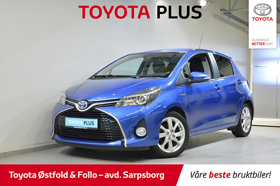 Toyota Yaris 1,5 Hybrid Style e-CVT , DELSKINN/KEY-LESS M.M.,  2016, 46200 km, kr 178000,-