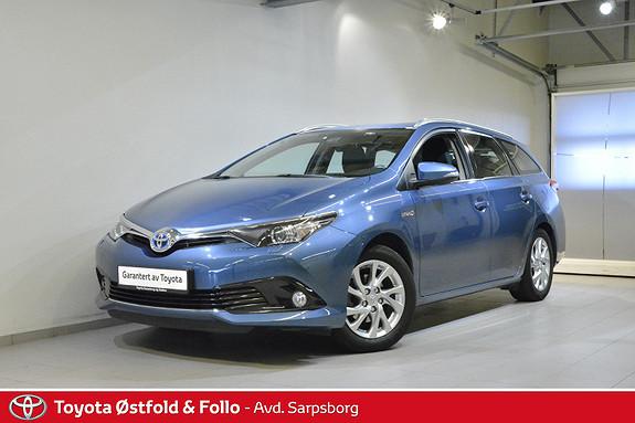 Toyota Auris Touring Sports 1,8 Hybrid Active S  2016, 68400 km, kr 198000,-
