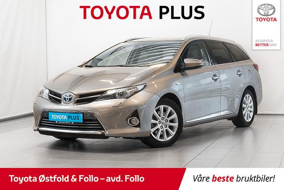 Toyota Auris Touring Sports 1,8 Hybrid Executive Skinn Glasstak  2015, 49497 km, kr 209000,-