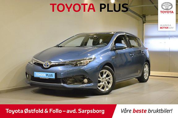 Toyota Auris 1,8 Hybrid E-CVT Active S , TILHENGERFESTE,  2016, 37600 km, kr 208000,-