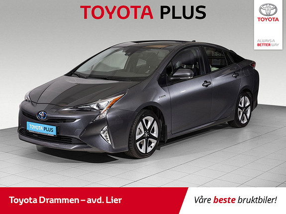 Toyota Prius Plug-in Hybrid 1,8 VVT-i Hybrid Active Style  2016, 57800 km, kr 214000,-