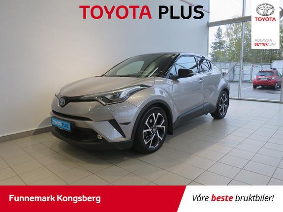 Toyota C-HR 1,8i Hybrid Dynamic Tech  2017, 29400 km, kr 284900,-