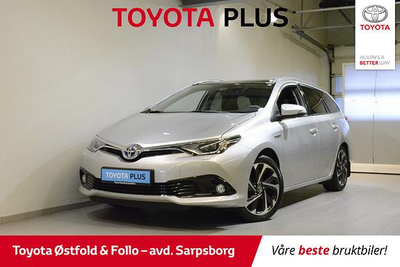 Toyota Auris Touring Sports 1,8 Hybrid Style , BI-LED/KEY-LESS M.M.,  2016, 37800 km, kr 225000,-