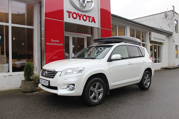 Toyota RAV4 2.2 150hk Executive, TECTYL, KROK  2012, 123500 km, kr 189900,-