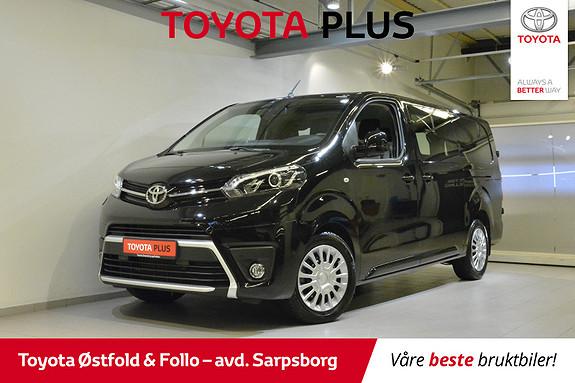 Toyota Proace 2,0 D 122 Comfort L2H1 , H.FESTE 2500KG / KOMFORTVEGG,  2019, 18500 km, kr 325000,-