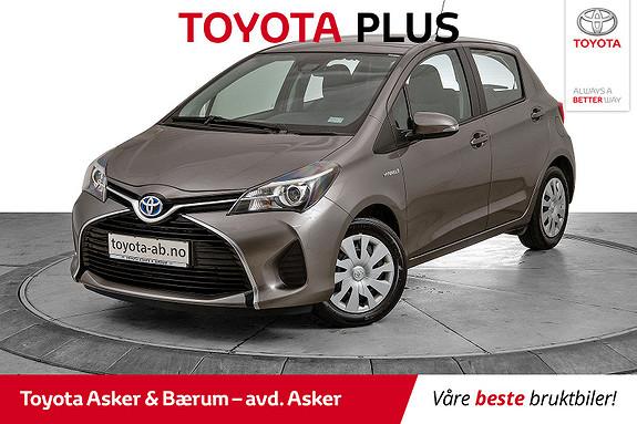 Toyota Yaris 1,5 Hybrid Active S e-CVT INNBYTTEKAMPANJE  2016, 36000 km, kr 164000,-