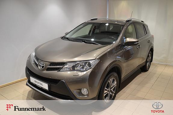 Toyota RAV4 2,2 D-4D 4WD Executive  2014, 134000 km, kr 229000,-